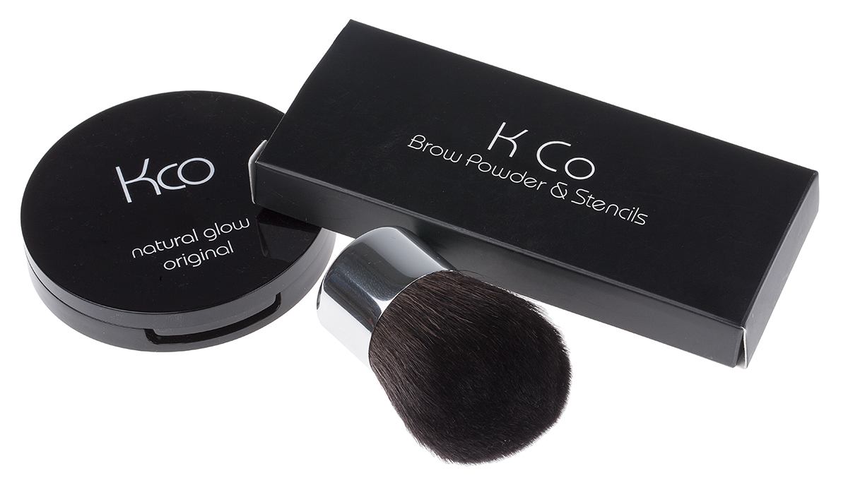 Kco Compact, Eye Powder & Brush